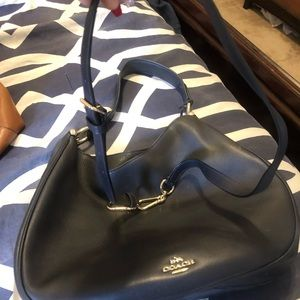 Coach hand bag, barely used.